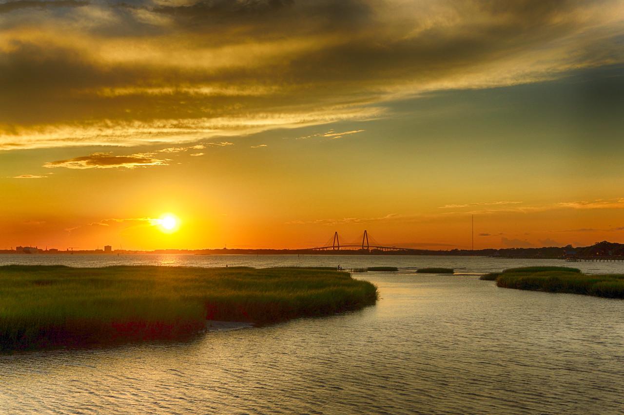 sunset Piit street Bridge