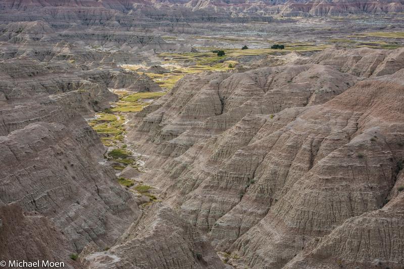 Badlands National Park Landscape