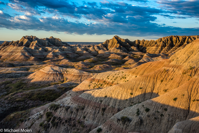 Badlands National Park Landscape