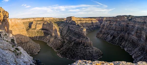 Bighorn Canyon Panorama