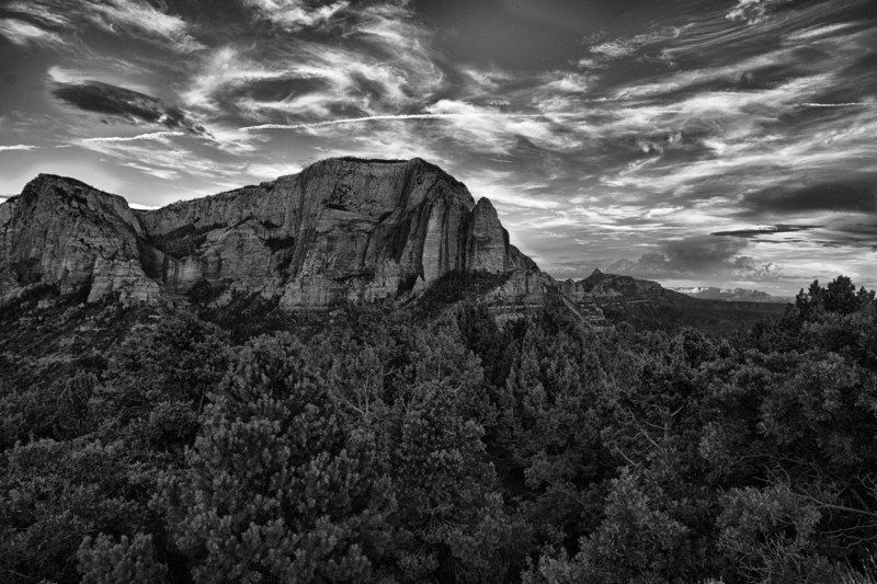 Kolob canyons (HDR), Zion national park.