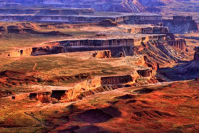 Abstract Canyonlands