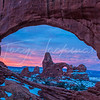 Turret Arch through South Window, Arches National Park