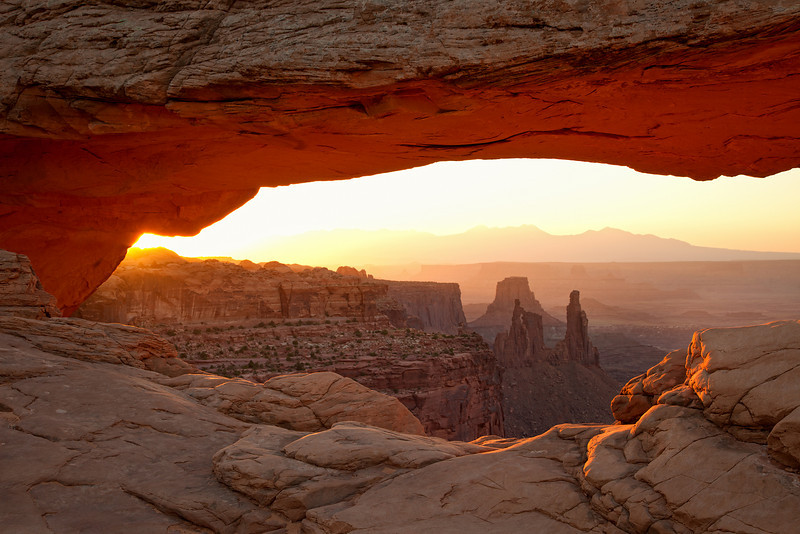 Sunrise at Mesa Arch, Canyonlands National Park, UT, June 2010