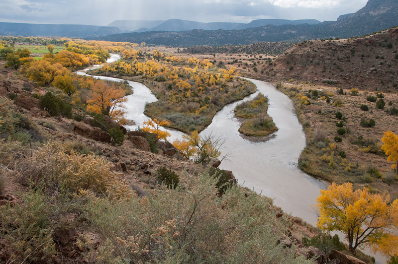 Morning on the Chama River