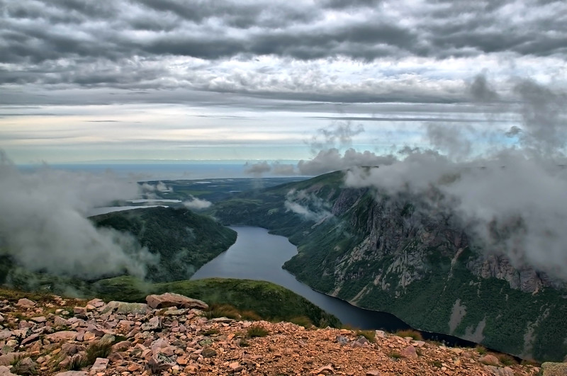 Gros Morne Mountain, Gros Morne National Park. This photo was featured in Our Canada magazine, Feb.-March, 2011