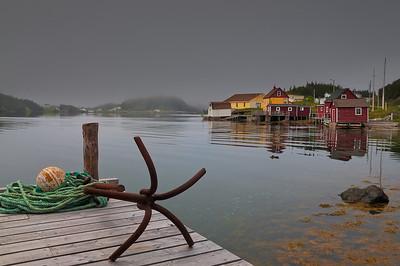Salt Harbour, Herring Neck, Newfoundland.