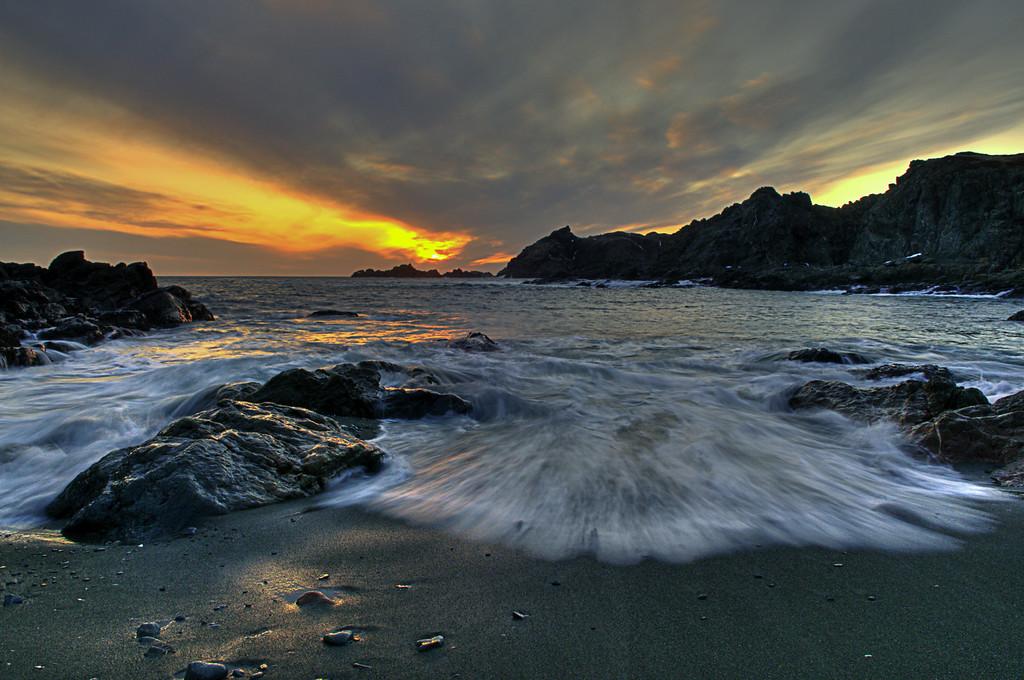 """Sinking Like A Sunset""  Sea Breeze Park, Twillingate, Newfoundland"