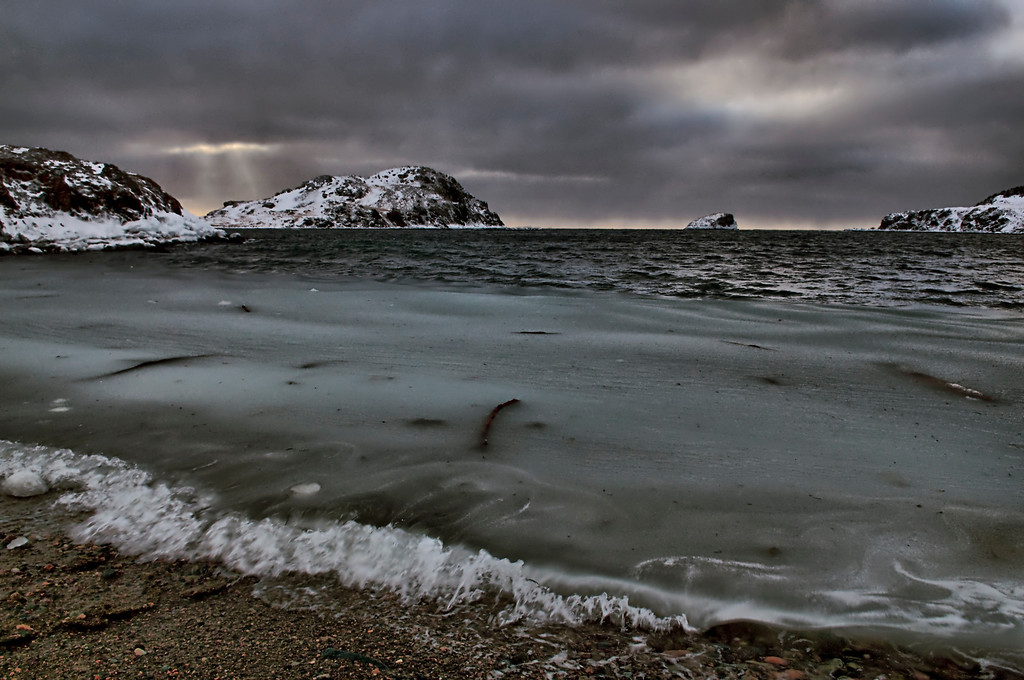 """""""Debris"""" Back Hr., Twillingate, Newfoundland"""