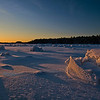 """Ice Hummocks"" , Boyd's Cove, Newfoundland"