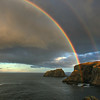 """Rainbow At Sea""   Spillers Cove/French Head, Twillingate."