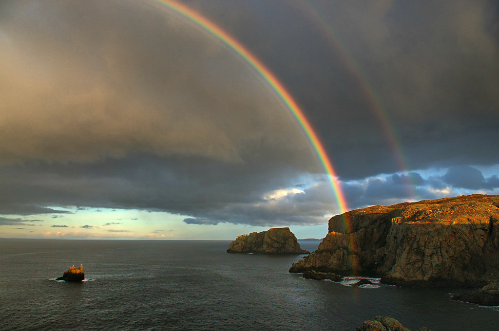 """""""Rainbow At Sea""""   Spillers Cove/French Head, Twillingate."""