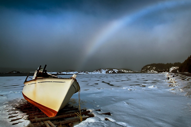 """Fogbow"", Too Good Arm, Newfoundland"