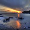 "Reflected Rays"" Sleepy Cove, Twillingate"
