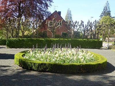 A small park in Ängelholm