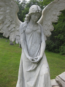 Dellwood cemetery  stone angel
