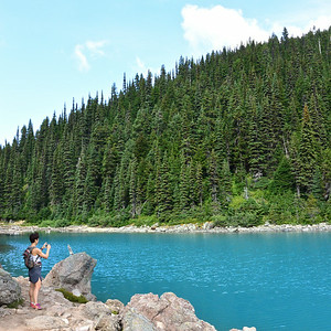 and this is the last one from Garibaldi Lake, I promise