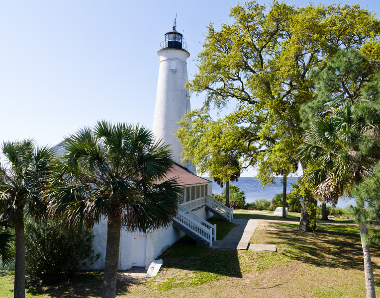 St. Marks Lighthouse (1842)