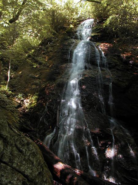 Rufus Morgan Falls<br /> Southern Nantahala Wilderness, NC
