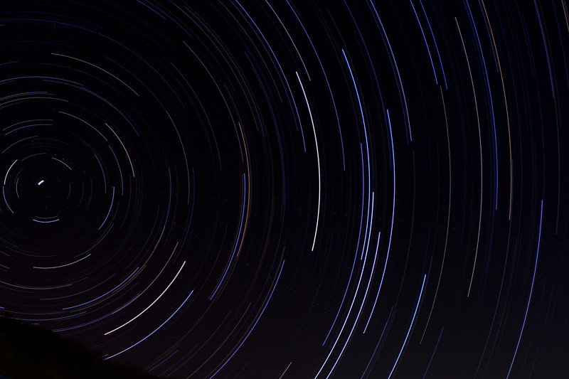 164 Exposuer image taken over a 2 hr and 45 min period.  These are the stars above my  home.