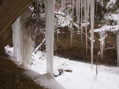 Stebbins Gulch - Ian Adams Winter Workshop - Jan. 17 2009