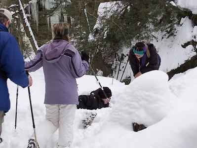 Stebbins Gulch Winter Hike - Feb 1, 2009