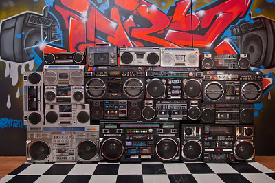 Boombox collection as of November 22nd 2013