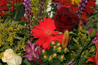 Beautiful Flowers from a Birthday Bouquet