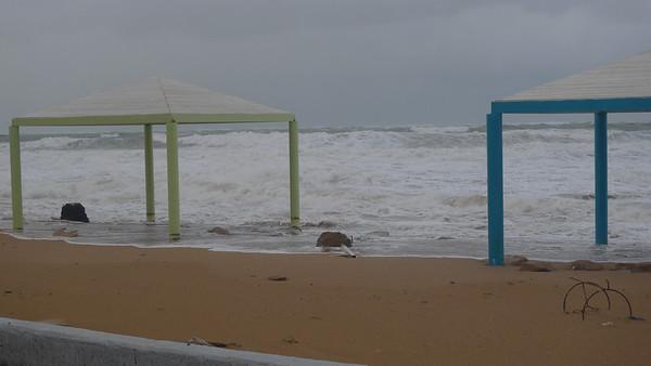 Storm at Nahariya - 12-12-2010