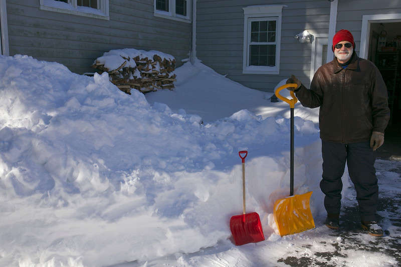 Snow shovels in sizes for all.