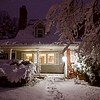 Winter Storm Quinn knocked out power to homes throughout the Northeast--but not this one in Hamden. March 7, 2018.
