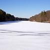 Lake Whitney in New Haven/Hamden, Connecticut,  froze.  Jan. 10, 2018