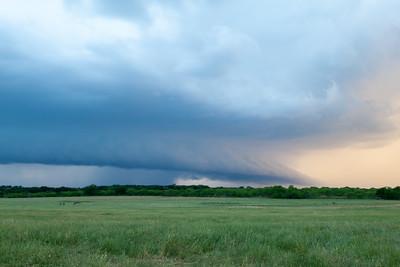 Spring Storm In Oklahoma