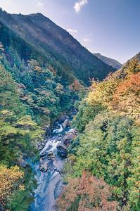 The Half Lit Autumn Valley