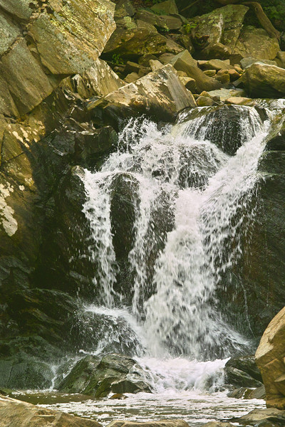 This is the Falls at Scott's Run near where it flows into the Potomac. (July)