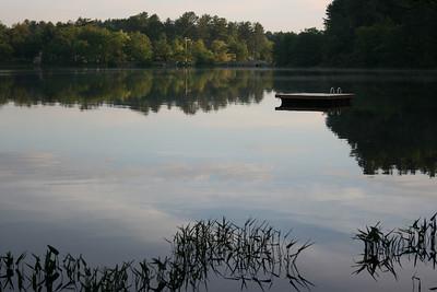 dock, at peace