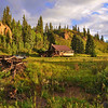 along the Rio Grande River above Creede, Colorado -