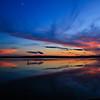 A Blue Hour Sunset