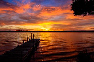 Dreamy Summer Sunset  2
