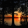 Sunset on Trout Lake