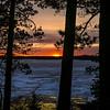 Frozen Trout Lake Sunset 2