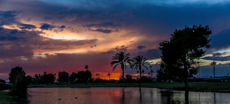 Sun City sunset 1-14-17KV9A1573