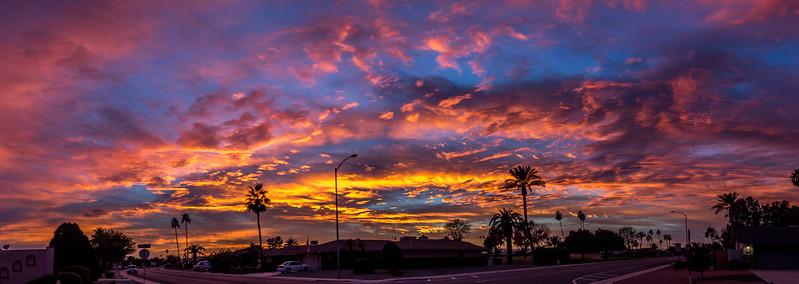 Sun City sunset 1-9-17_MG_2841-Pano