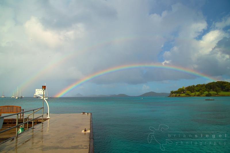 Rainbow at Caneel Bay