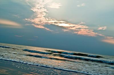Hilton Head Surf Sunrise 2