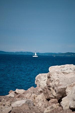 Grand Traverse Bay Sailboat