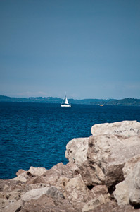 Grand Traverse Bay Sailboat