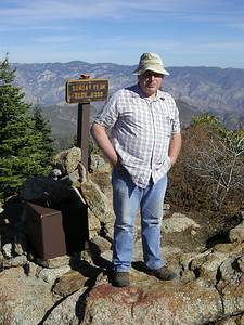 Norm, the dominum factotum of the Sunday Peak trail. This was his 22nd hike to the top for 2010!