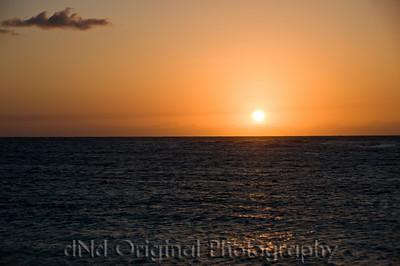 065 Bahamas 2008 Last Evening Sunset - Sunset