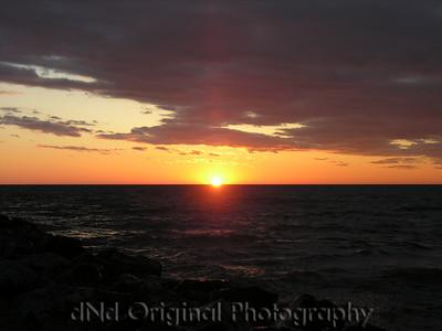 2006 Mich Trip 074 - Sunset
